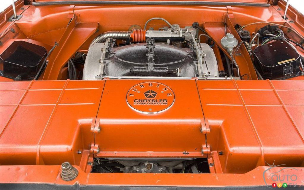 La Chrysler Turbine 1963, moteur