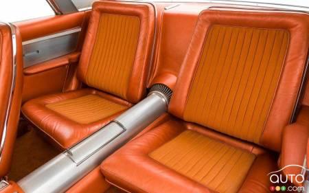 1963 Chrysler Turbine, second row