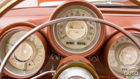 1963 Chrysler Turbine, dials