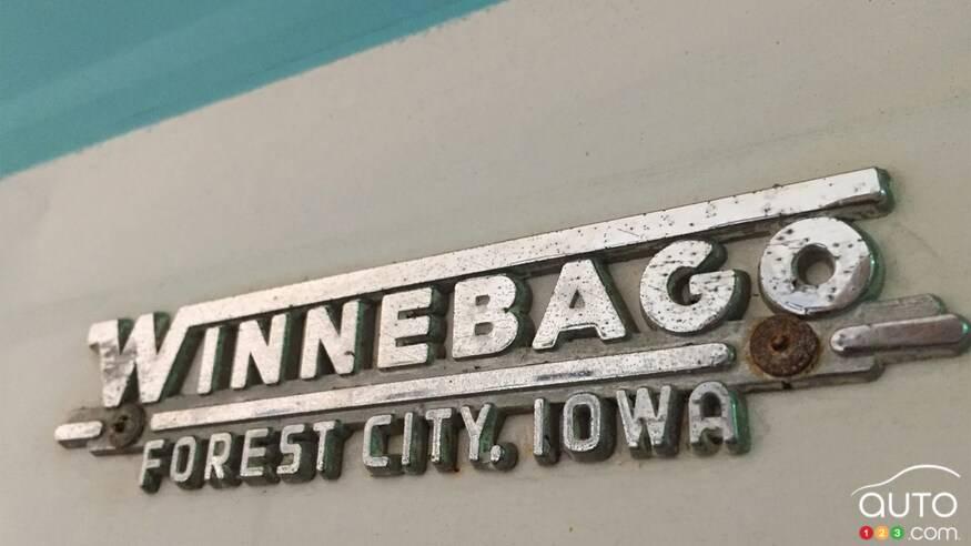 Winnebago F17 1968, logo