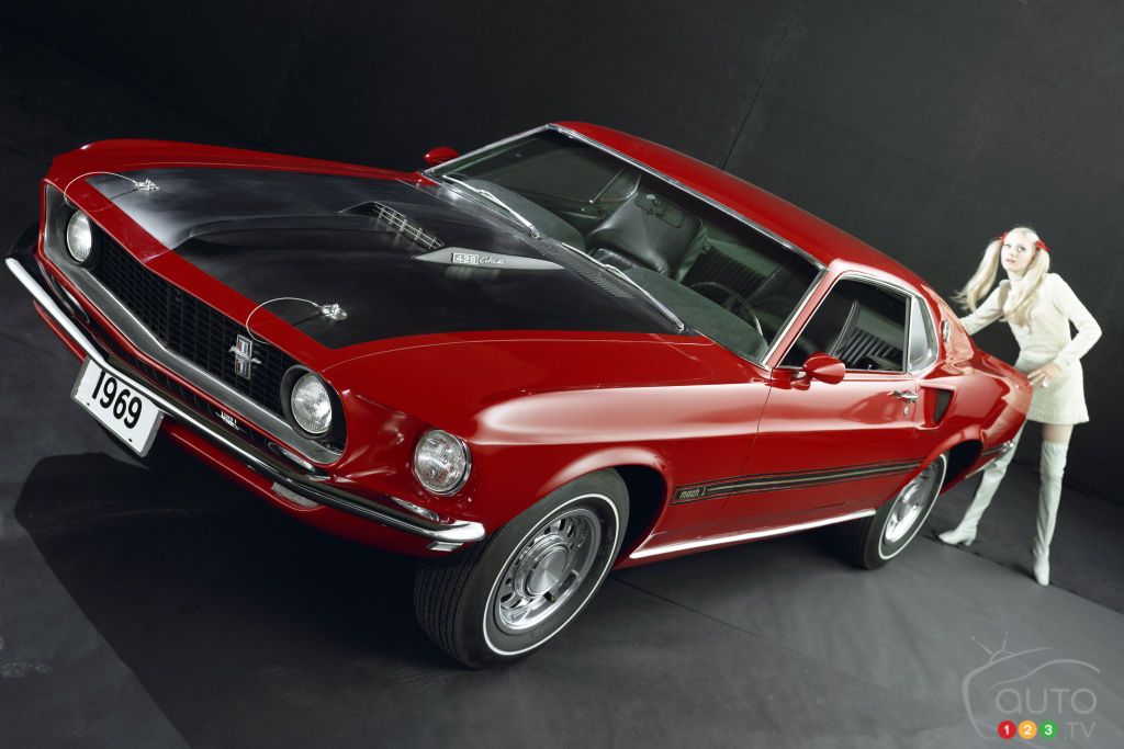 Ford Mustang Mach 1 1969, avant