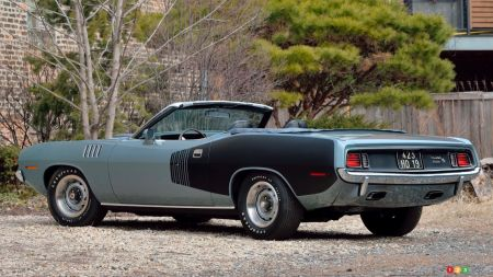 1971 Plymouth Cuda convertible, img. 3