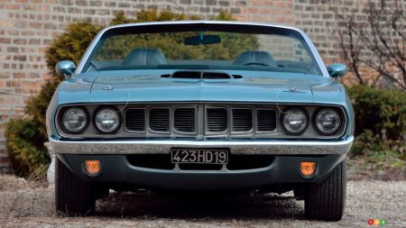 1971 Plymouth Cuda convertible, img. 4