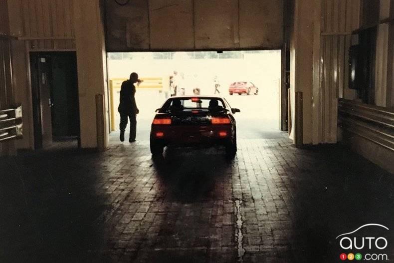 Pontiac Fiero 1988, quittant l'usine en 1988