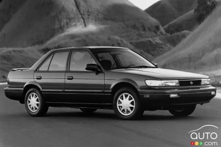 1992 Nissan Stanza, new