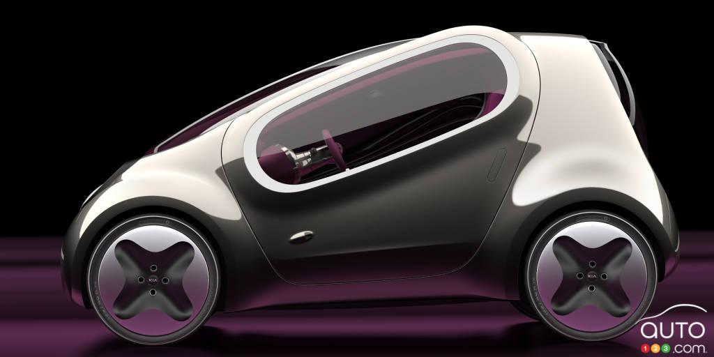 Prototype Kia Pop, 2010, profil