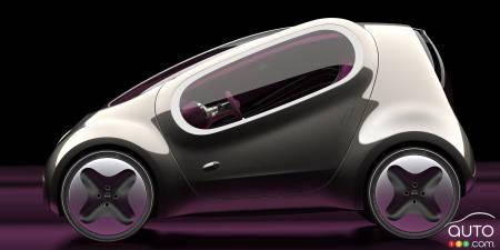 Kia Pop concept, 2010, profile