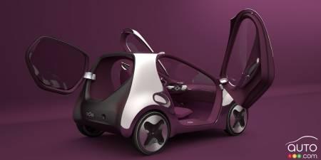 Kia Pop concept, 2010, three-quarters rear