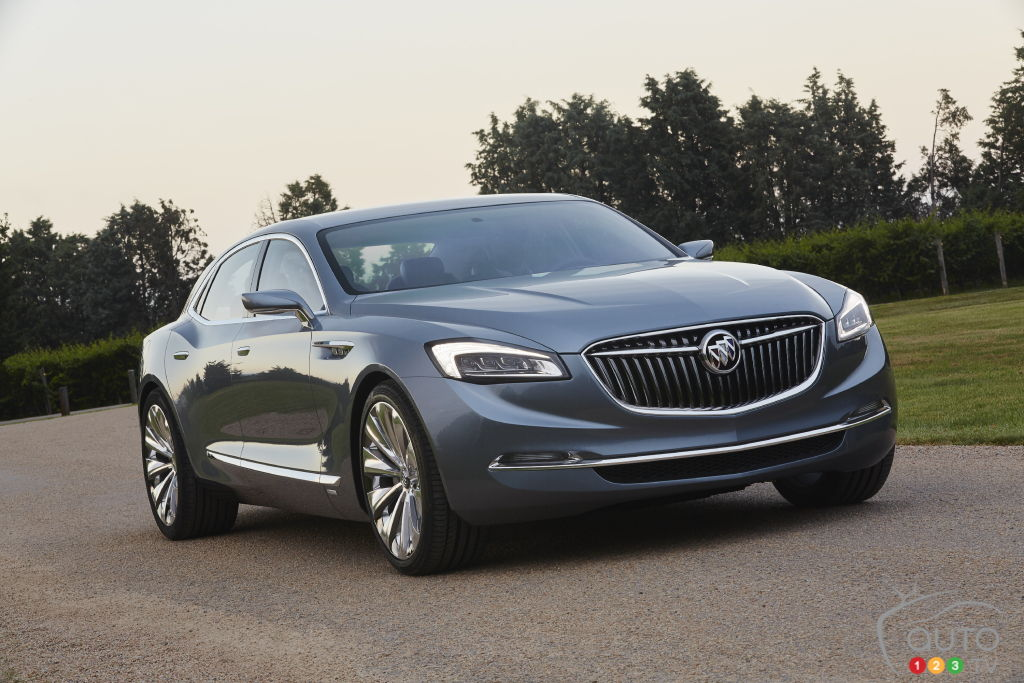 All New 2017 Buick Lacrosse Begins To Appear Car News