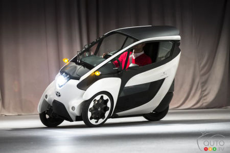 Toyota i-Road (Photo: Toyota)