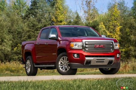 Le GMC Canyon 2016