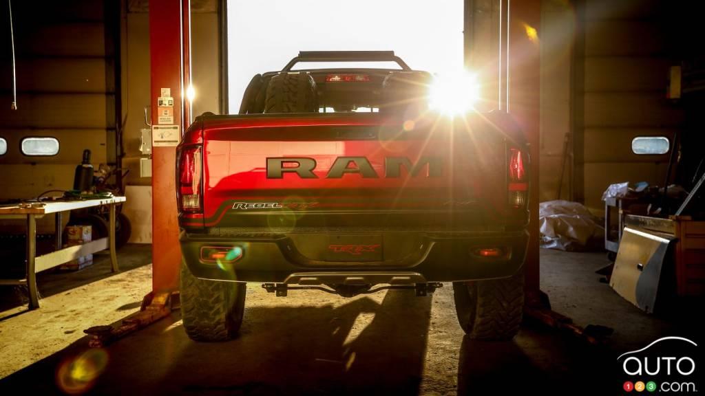 Ram Planning 707 Hp Rebel Trx For 2021 Car News Auto123