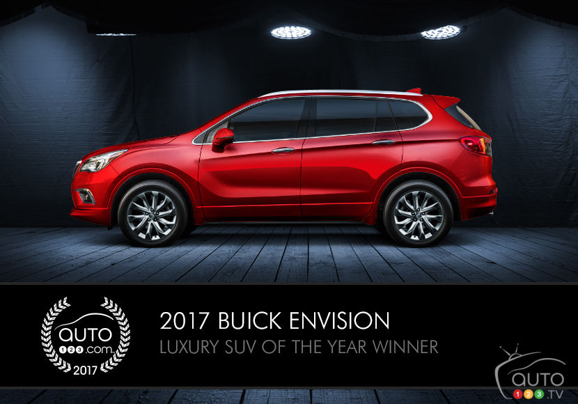 2017 Buick Envision, LaCrosse win Auto123.com awards | Car News ...