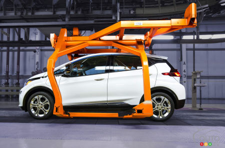 The all-new 2017 Chevy Bolt EV