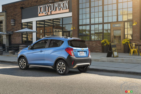The new 2017 Chevy Spark ACTIV