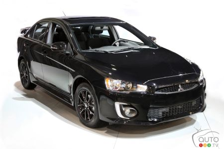 Canada-only Black Editions for Mitsubishi Lancer and RVR   Car News   Auto123