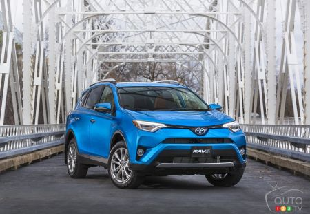 The 2017 Toyota RAV4 Hybrid is the Canadian Green Utility Vehicle of the Year