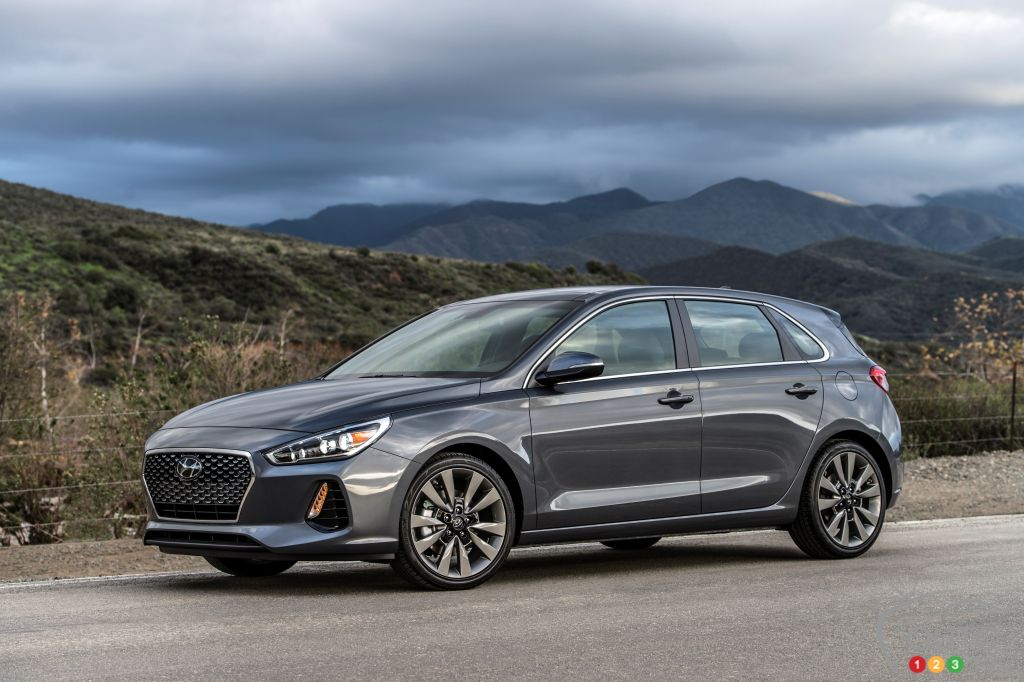 The 2017 Canadian International Auto Show Also Featured The Canadian  Premiere Of The 2018 Hyundai Elantra GT, Which Originally Debuted In  Chicago Last Week ...