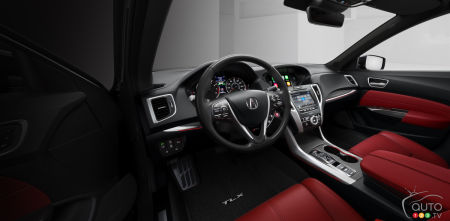 2018 Acura Tlx Makes World Debut At New York Auto Show Car News