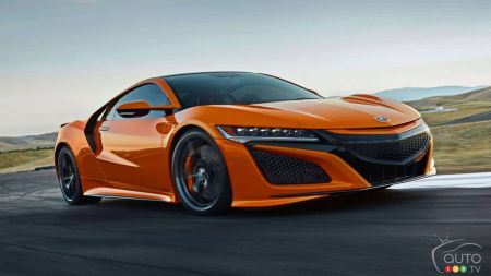 2019 Acura Nsx Details And U S Pricing Announced Car News Auto123