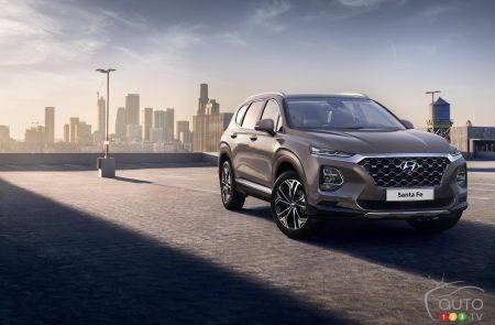 2019 Hyundai Santa Fe: first official pictures released | Car News ...