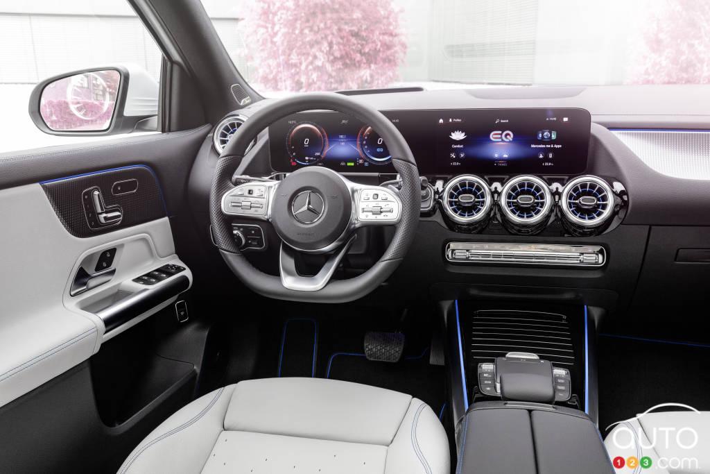 Mercedes-Benz EQA, intérieur
