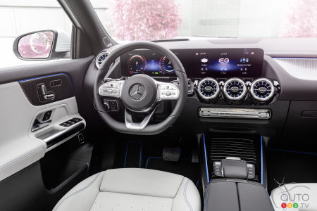 Mercedes-Benz EQA, interior