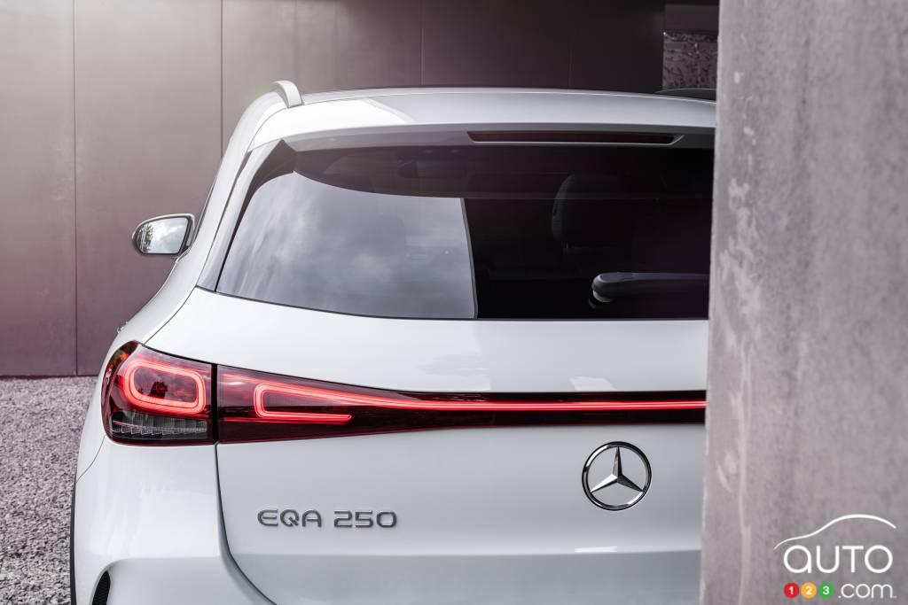 Mercedes-Benz EQA, arrière