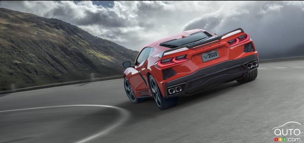 Chevrolet Corvette, arrière