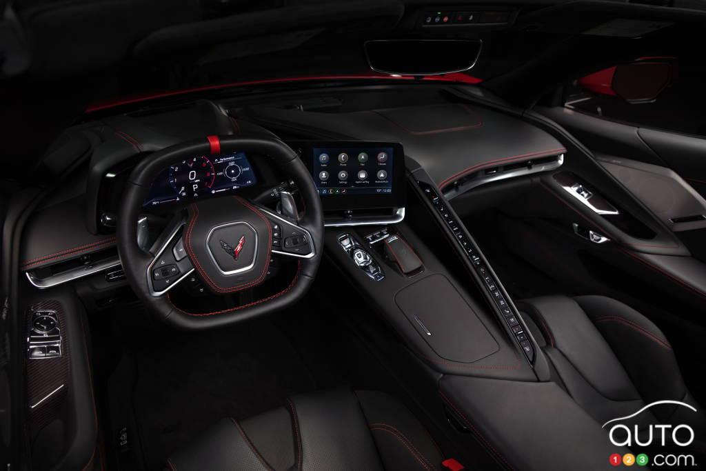 Chevrolet Corvette, intérieur