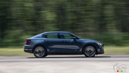 Polestar 2, on the road
