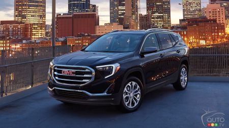 2020 GMC Acadia Adds AT4 Trim, Turbo Engine >> Gm Details 2020 Gmc Truck Suv Roster Car News Auto123