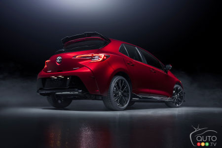 2021 Toyota Corolla Hatchback Special Edition, three-quarters rear