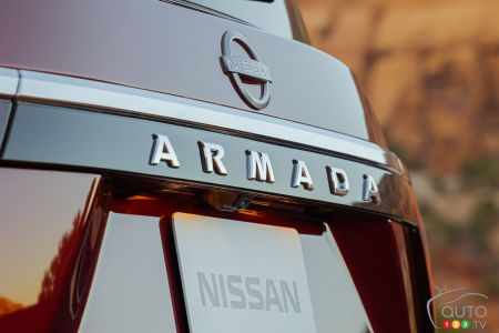 2021 Nissan Armada, nameplate, badge