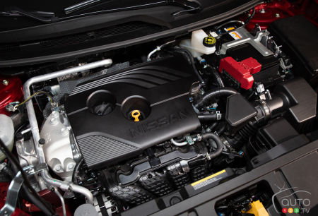 4-cylinder engine of the Nissan Rogue