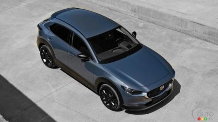 2021 Mazda CX-30, from above