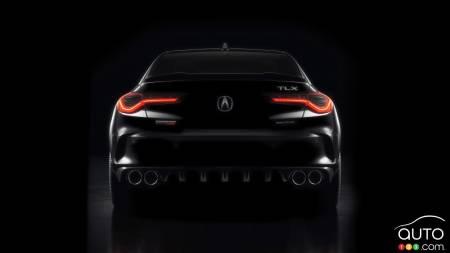 2021 Acura TLX, rear