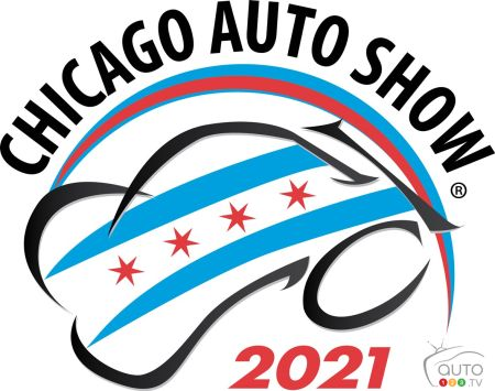 Logo of the 2021 Chicago Auto Show