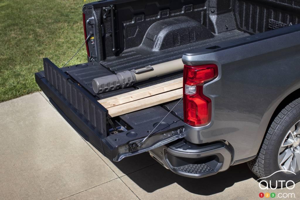 Chevrolet Silverado 2021,  caisse ouverte