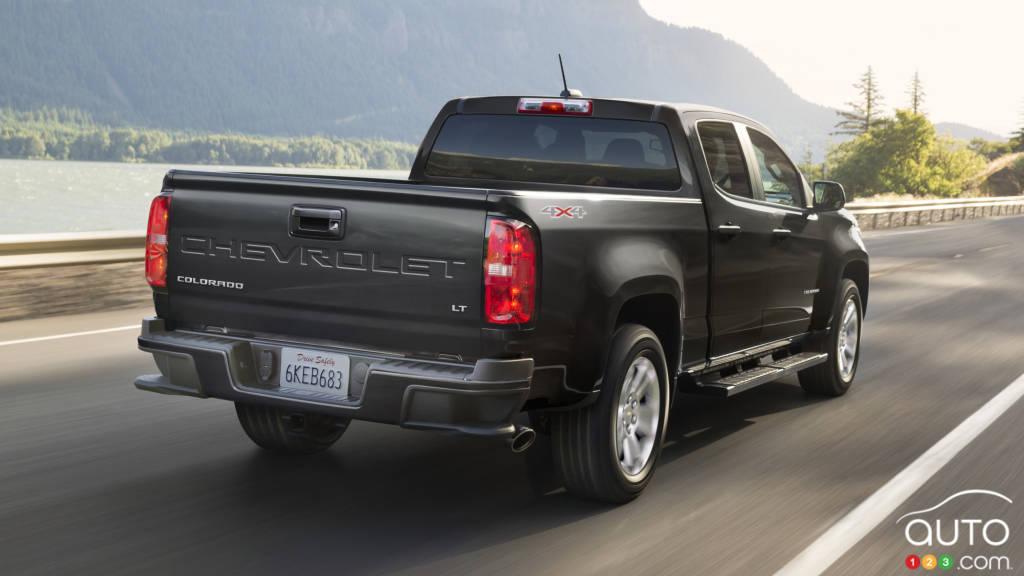 Chevrolet Colorado LT 2021, arrière
