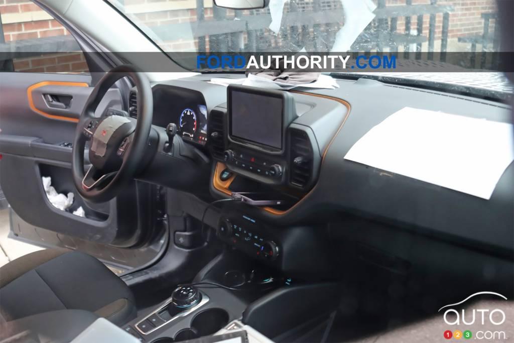 Ford Bronco 2021, intérieur