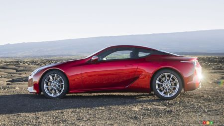 2021 Lexus LC 500 2021, side view