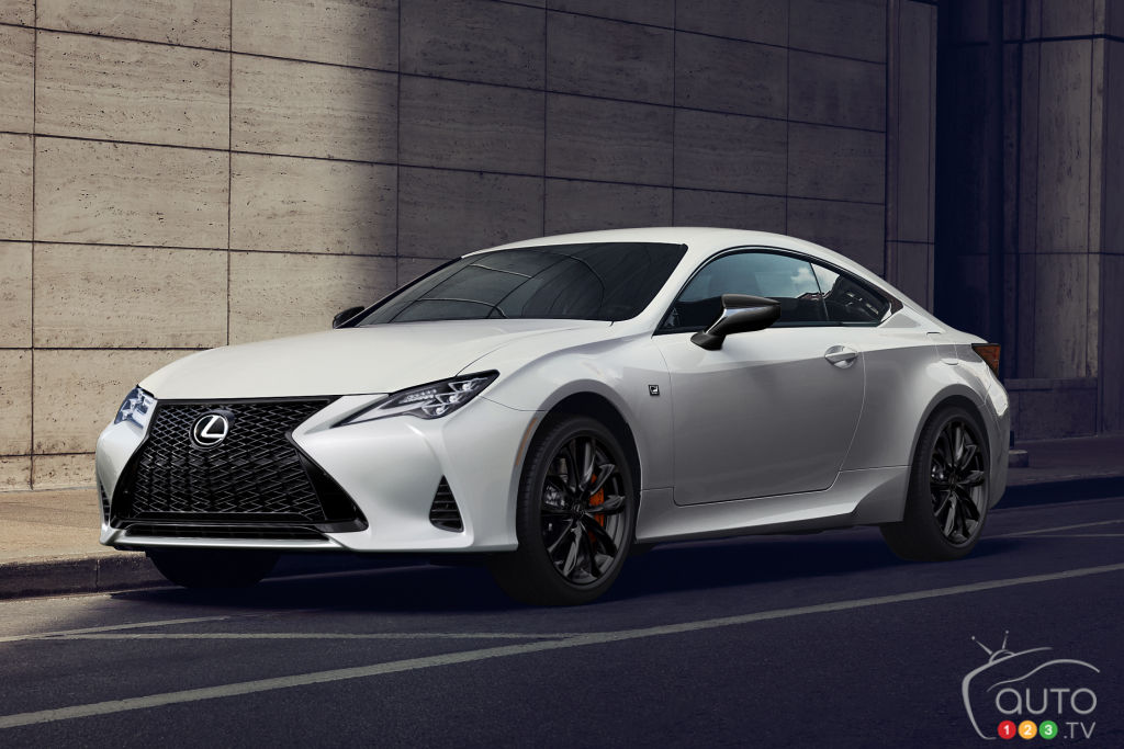 Lexus RC Black Line Edition 2021