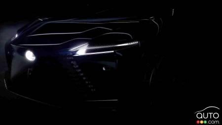 Lexus electric concept, front
