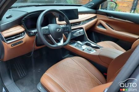 2022 Infiniti QX60, interior
