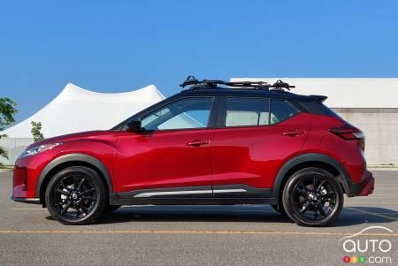 2021 Nissan Kicks, profile