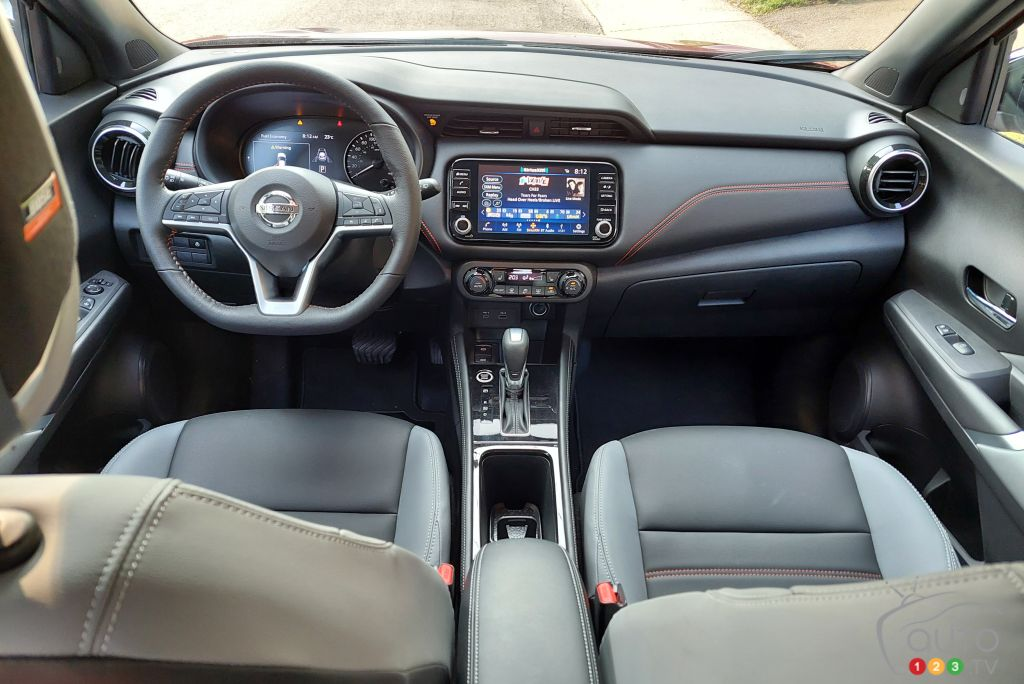 Nissan Kicks 2021, intérieur
