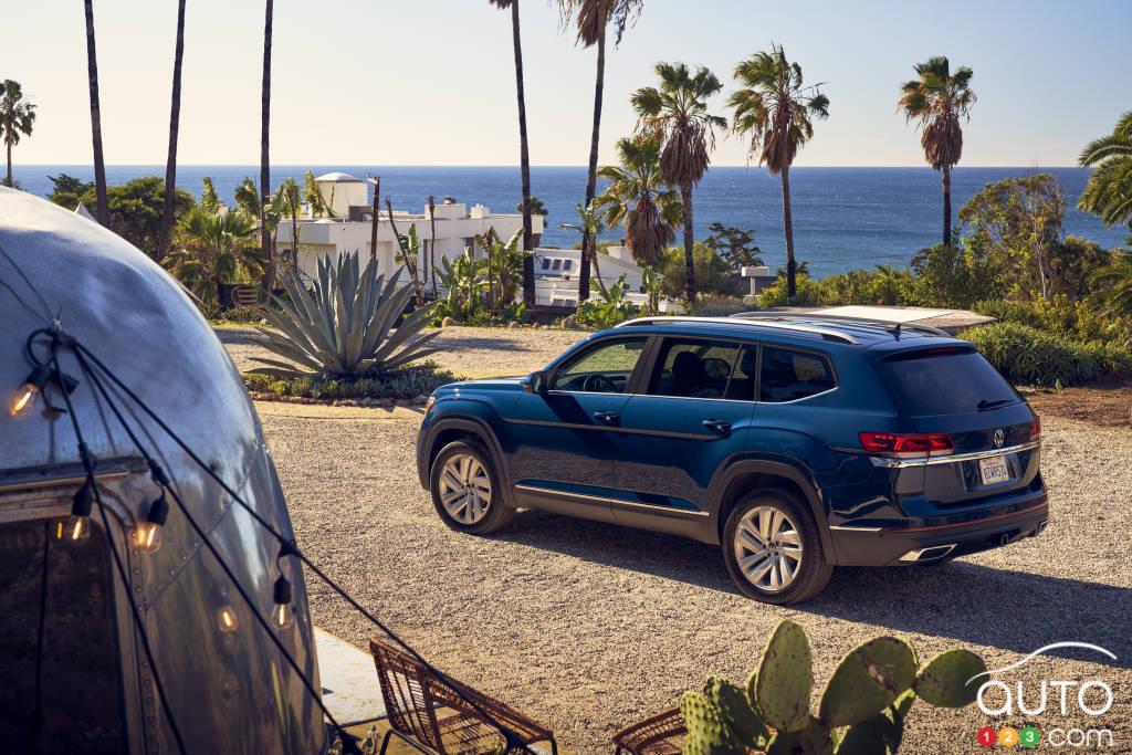 Volkswagen Atlas, trois quarts arrière