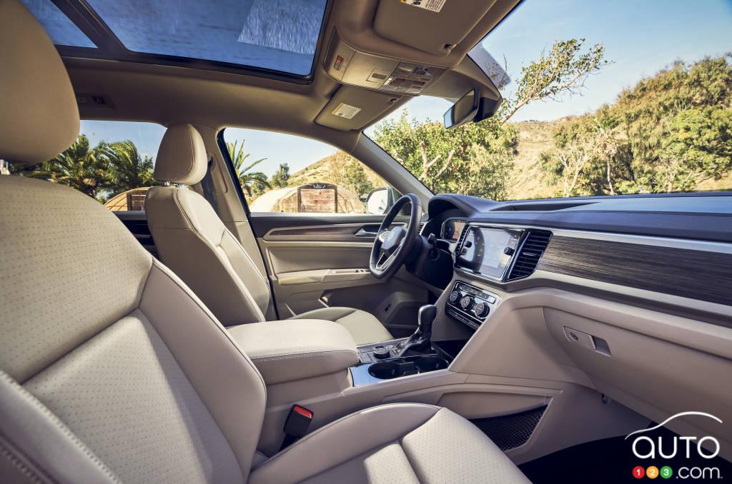 Volkswagen Atlas, première rangée de sièges