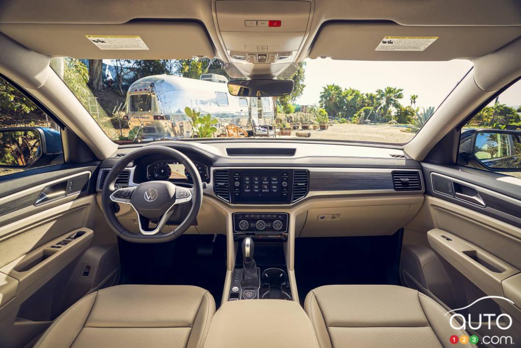 Volkswagen Atlas, intérieur